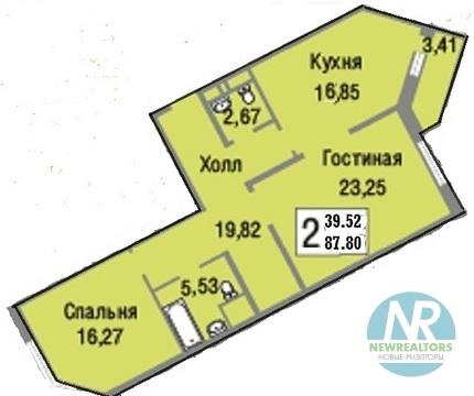 Продается 2 комнатная квартира в ЖК Зеленые Аллеи - Фото 4