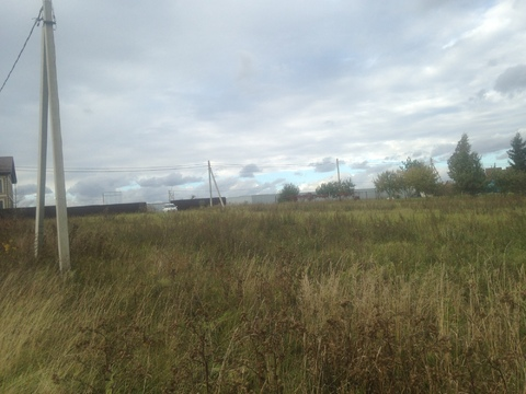 Земельный участок 15 соток в д. Бяконтово, Подольского района - Фото 3