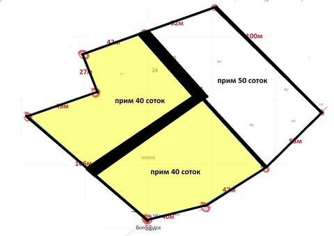 """Продам, землю, 4000,0 кв.м, Богородск, Богородск, """" Продажа . - Фото 3"""