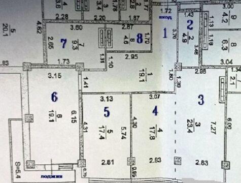 3-к квартира, Ростов-на-Дону, Семашко,14/16, общая 121.00кв.м. - Фото 2