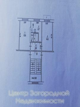 Двухкомнатная Квартира Область, улица Гагарина, д.2, Щелковская, до 20 . - Фото 1
