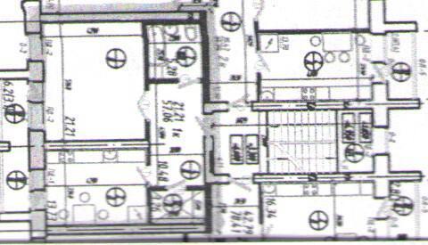 Продается большая 1 комнатная квартира в новом доме 57,06 кв. м, . - Фото 3