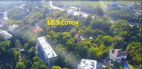 Шикарный участок в Ялте 10.5 сот. в элитном коттеджном поселке Дубки - Фото 2