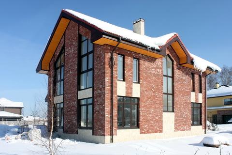 Кирпичный дом под ключ по индивидуальному проекту в поселке Гайд Парк - Фото 2