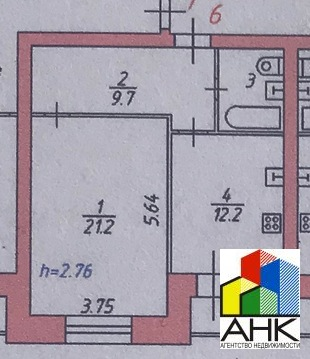 Квартира, пр-кт. Авиаторов, д.6 - Фото 2