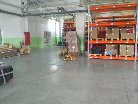 Отапливаемый склад 674 кв.м, с хорошим ремонтом - Фото 1