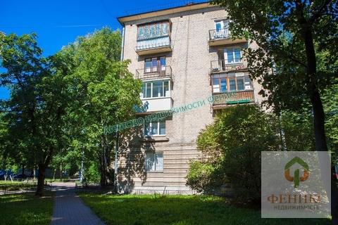 Двухкомнатная квартира, 44 кв.м.Васильевский остров, ул.Шевченко, дом 32 - Фото 1