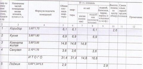 Продажа 1-к квартиры Шебекинский район, село Графовка, - Фото 3