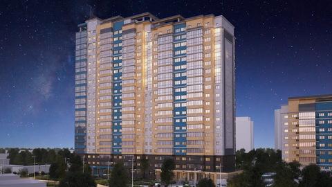Квартира в новостройке: г.Липецк, Фрунзе улица, д.85 - Фото 1