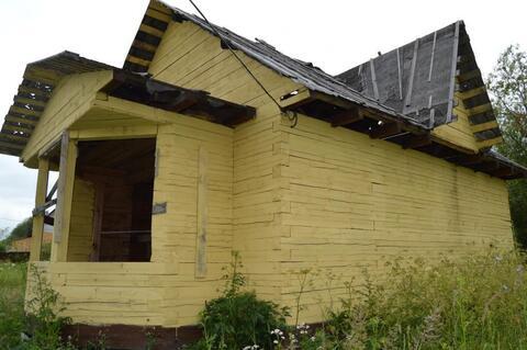 Продам не достроенный брусовой 2-х этажный дом в селе Речицы - Фото 2
