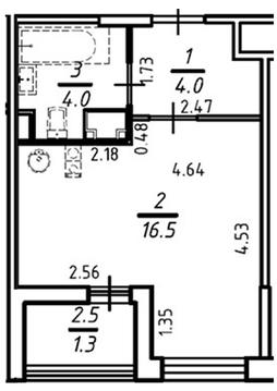 Квартира с отделкой на берегу Невы - Фото 4