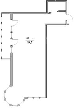 3-комн. кв. 99,7 м2, этаж 5/5 видовая в Ялте - Фото 2