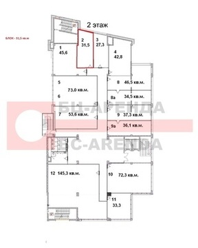 Сдам офисное помещение 31.5 м2, Рязанский пр-кт, 24 корп.2, Москва г - Фото 4