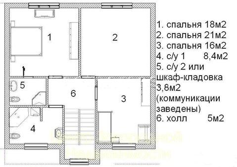 Дом, Можайское ш, Минское ш, 85 км от МКАД, Борисьево кп (Можайский . - Фото 1
