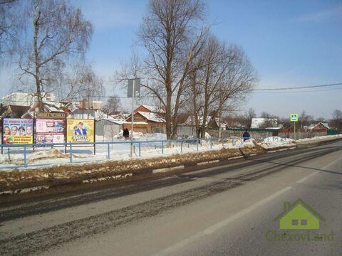 Участок 11,5 сот. в г.Чехов под предпринимательство - Фото 1