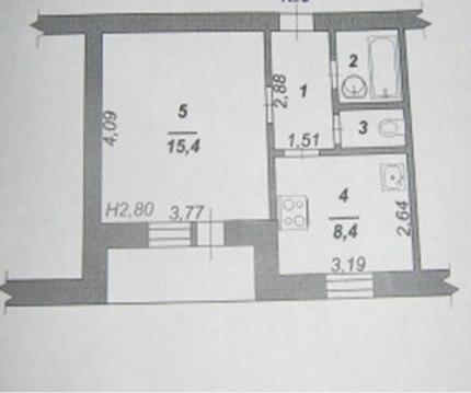 Продажа 1-к квартиры в молодом блочном доме в центре г. Строитель - Фото 3