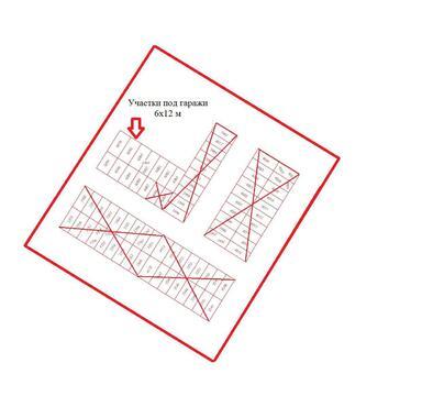 100 000 Руб., Продам земельный участок площадью 6х12м под строительство гаражей г.Со, Продажа гаражей в Сосновоборске, ID объекта - 400035063 - Фото 1