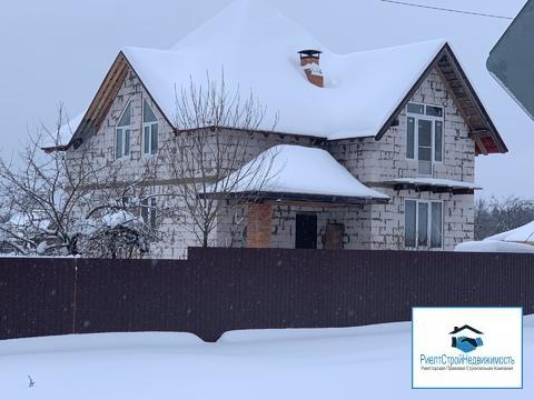 Новый дом в центре деревни Мокрое, газ, вода - Фото 1