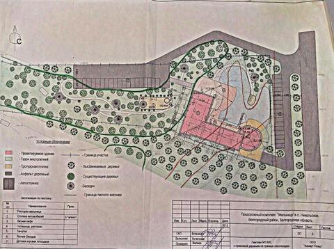 Продажа земельного участка, Никольский, Борисовский район - Фото 2