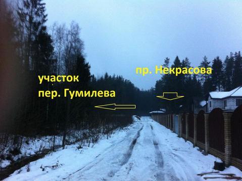 Участок во Всеволожске 20 соток ИЖС на пер Гумилева - Фото 1