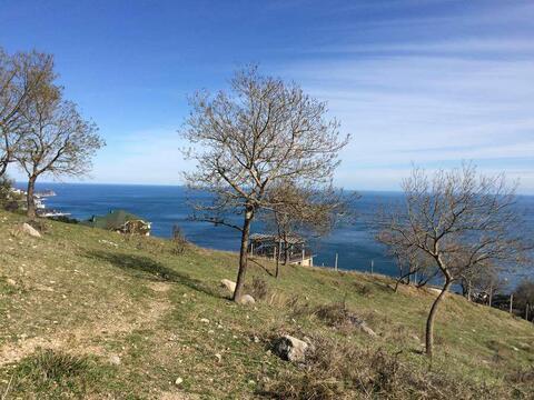 Участок в Алупке с панорамным видом на море и горы - Фото 1