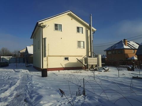 Участок 12,5 соток с 3-х этажным домом в д. Петелино - Фото 1