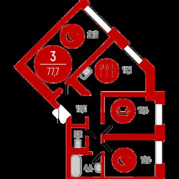 Продажа квартиры, Тюмень, Тихий, Купить квартиру в Тюмени по недорогой цене, ID объекта - 319504645 - Фото 1