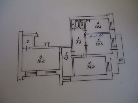 3 комнатная Лебедева 66 - Фото 1