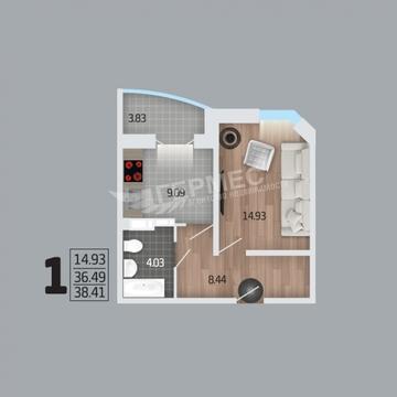 Продажа квартиры, Отрадное, Бутурлиновский район, Рубиновая - Фото 4