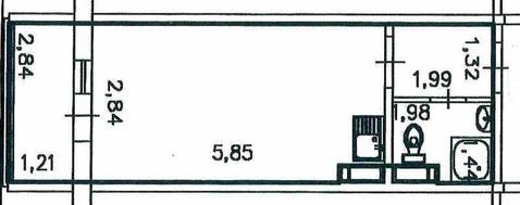 Продам 1-комнатную Вильского (Серебряный) - Фото 2