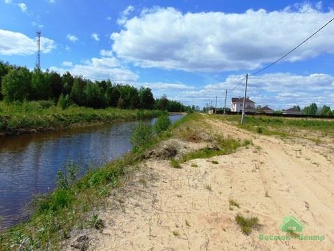 10 сот под ИЖС на берегу реки - с.Заречье - 60 км Щёлковское шоссе - Фото 1