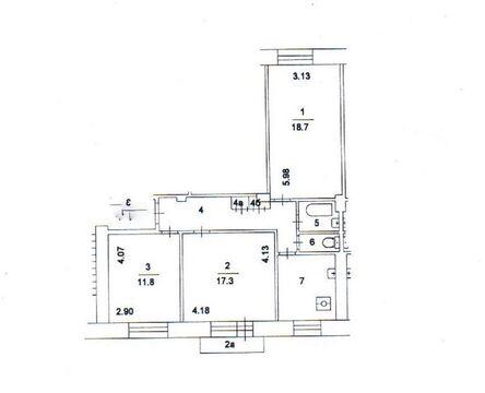Продается 3-комнатная на Ленинском проспекте, в сталинском доме. - Фото 2