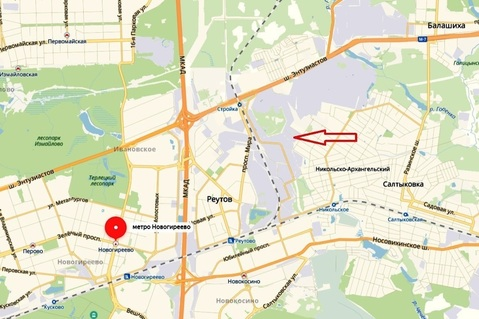 Склад 4370 м2 в 3-х км от МКАД, Реутово, ул. 8-я линия - Фото 3