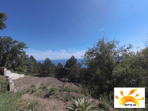 Продажа земельного участка в Алупке с видом на море и горы. - Фото 4