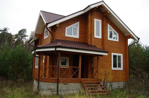 Брусовой дом в кп г. Заокский, 25 сот, газ, вода, охрана - Фото 1