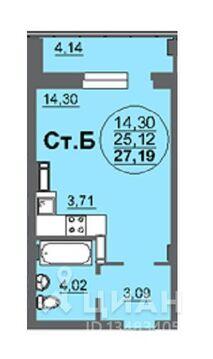 Продаюквартирустудию, Барнаул, Балтийская улица, 95, Купить квартиру в Барнауле по недорогой цене, ID объекта - 323016459 - Фото 1