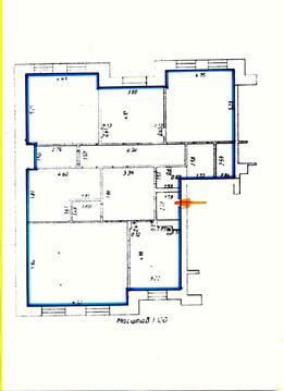 Некрасова 19 трёхкомнатная квартира - Фото 5