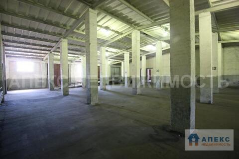 Аренда помещения пл. 1860 м2 под склад, производство, , офис и склад . - Фото 1