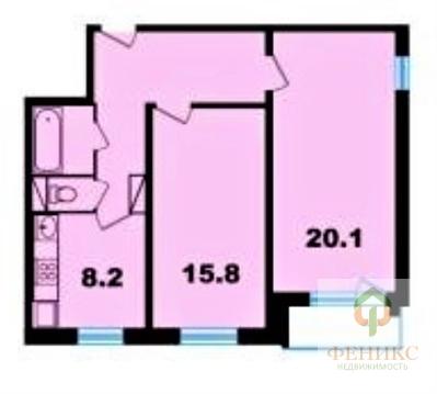 Продам квартиру 2-к квартира на 10 этаже 10-этажногопанельного дома - Фото 2