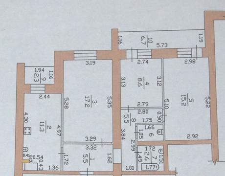Продается квартира г Тамбов, ул Интернациональная, д 47 к 1 - Фото 4