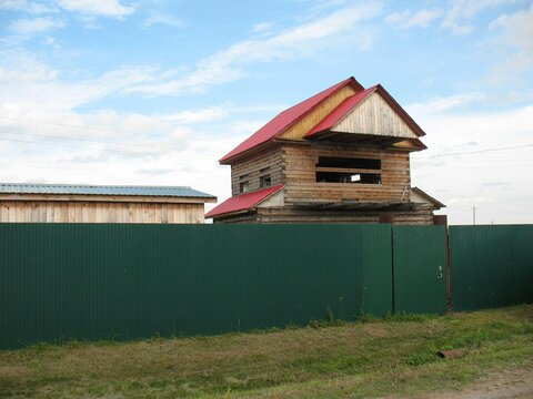Продам участок 22 сотки с недостроем в с. Мальцево, 33 км от Тюмени - Фото 2