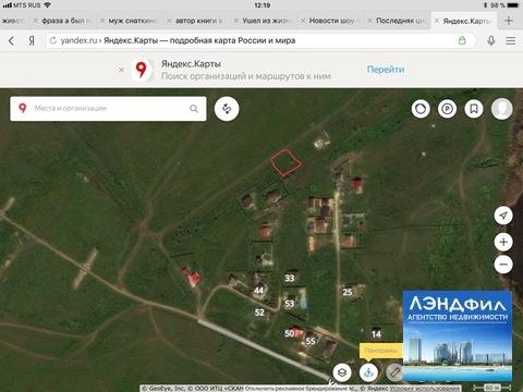 Участок в Усть-Курдюме, ул. Мусы Джалиля - Фото 1
