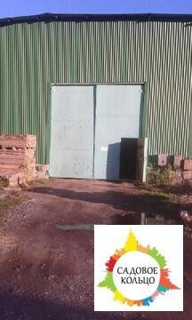 Под склад, ангар из металлоконструкций, неотапл, выс.: 5 м, пол бетон - Фото 2