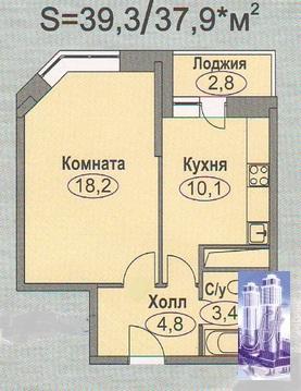 1к. кв. г.Домодедово ул Лунная д. 29 - Фото 5