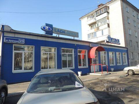 Торговая площадь в Курганская область, Курган ул. Кравченко, 23 (395.0 . - Фото 1