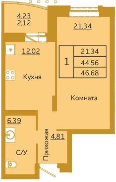 Объявление №50936920: Квартира 1 комн. Красноярск, ул. Партизана Железняка, 36,