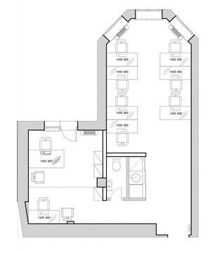 Офис 70 кв.м. высокого класса в аренду в ЦАО г. Моосква - Фото 3
