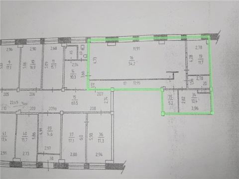 Офис 97,8м2 по адресу Гагарина 13 (ном. объекта: 1367) - Фото 3