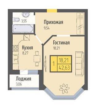 Продается 1-комнатная квартира в новостройке - Фото 3