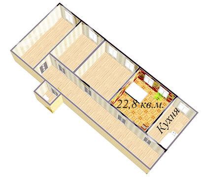 Продажа комнаты 22,8 кв.м. в Петроградском районе - Фото 3
